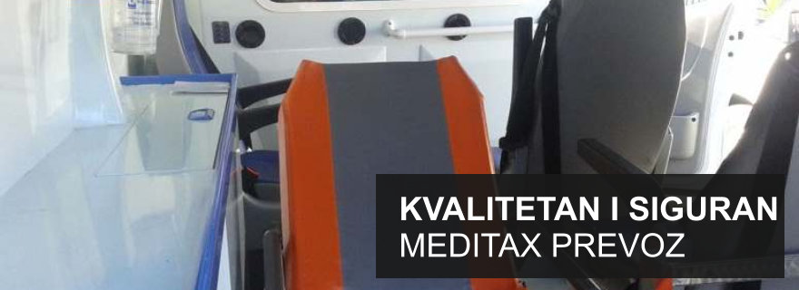 Meditax - kvaliteten i siguran prevoz